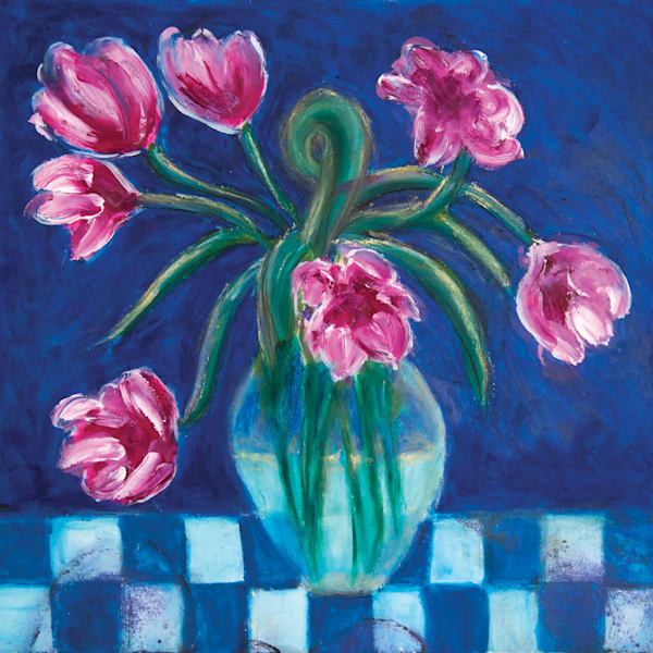 Flowers In A Vase Art | Norlynne Coar Fine Art