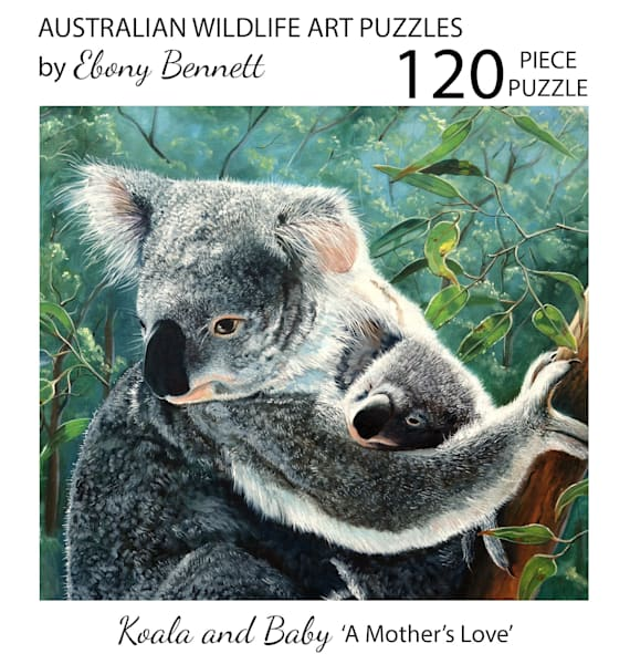Koala and Baby - A Mother's Love (120 Piece Puzzle)