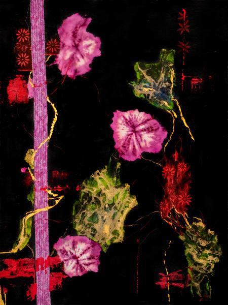 Flowers In The Dark Night Art | Ruth Feldman Fine Art