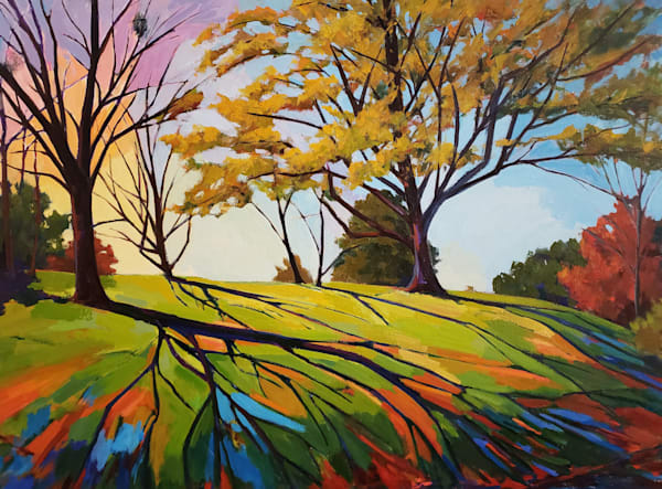 Lemon Hill Sunset  Art   Jenn Hallgren Artist
