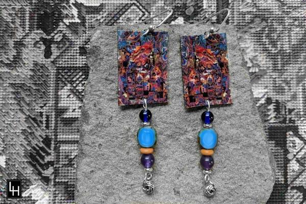 Esprit de L'Escalier_No. 1 Earrings