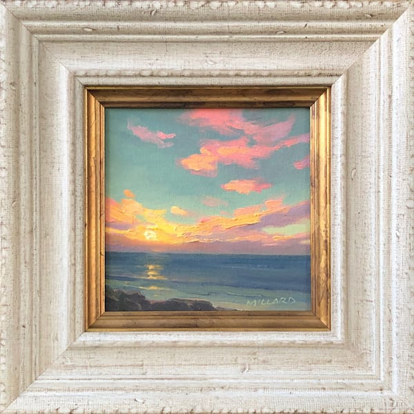 Sunset Kiss by Daryl Millard Original Oil Painting