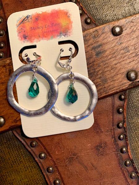 Green With Envy Earrings Art   Mickey La Fave