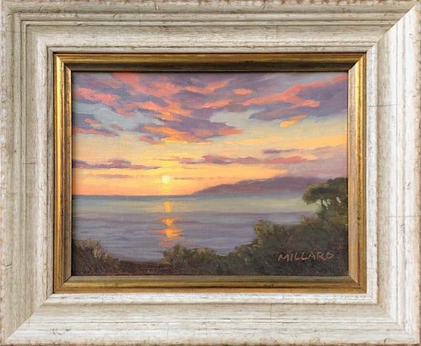 Anniversary Sunset by Daryl Millard Original Oil Painting