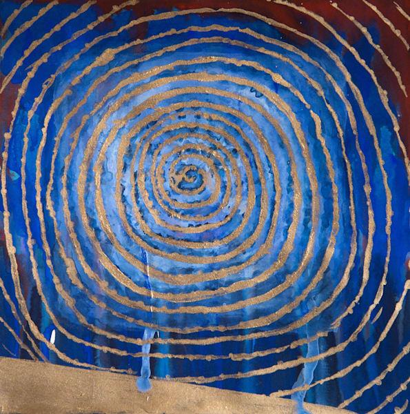Sky Spiral Art | Norlynne Coar Fine Art