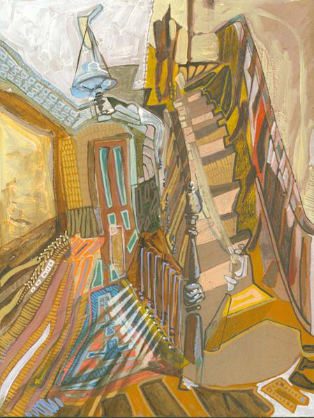 .St. George, Staten Island No. 102 | Erika Stearly, American Artist