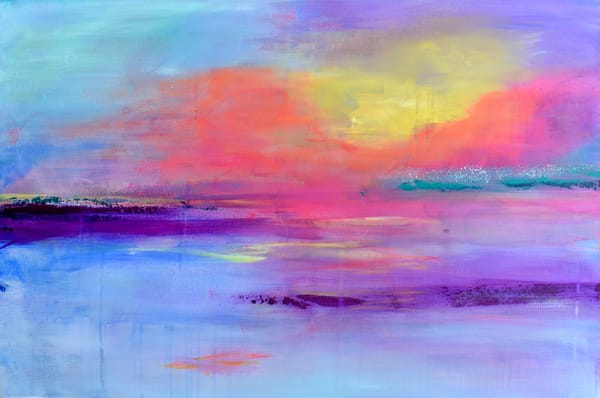 What Remains Of The Day Greeting Card  Art   Heather Eck Artist LLC