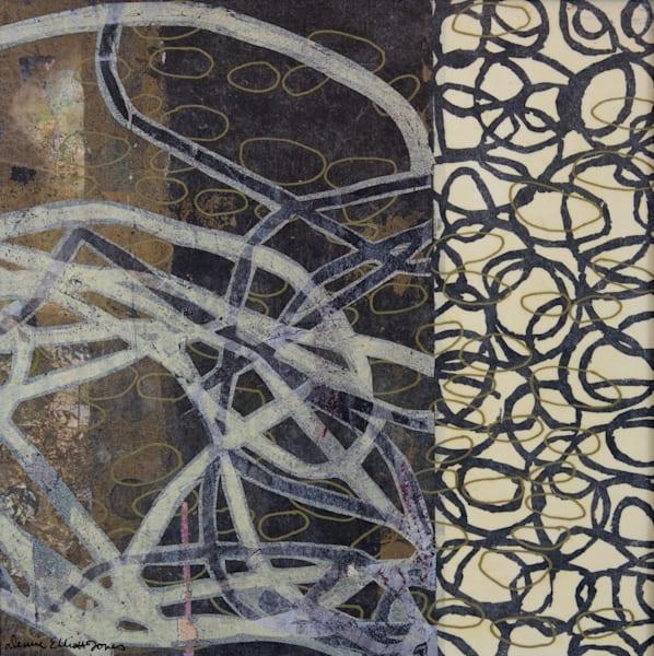 Buy Now Original Framed Mix Media Artwork By Denise Elliott Jones.