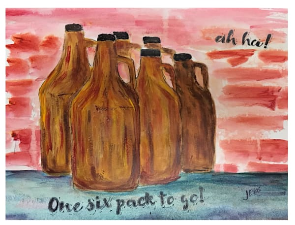 One Six Pack To Go Art | Sunrise Galleries