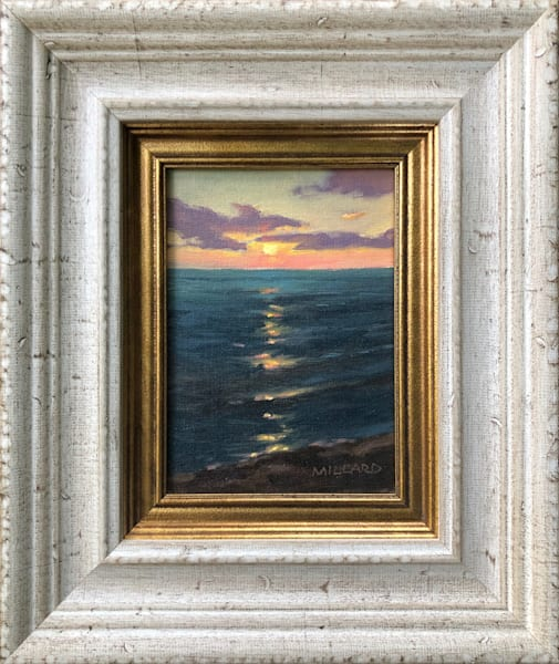 Sunset Serenity by Daryl Millard Original Oil Painting