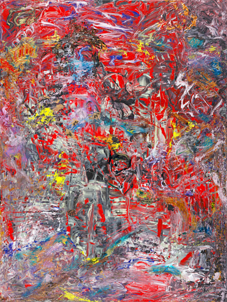 """The Departure""   Abstract Art   JD Shultz Art"