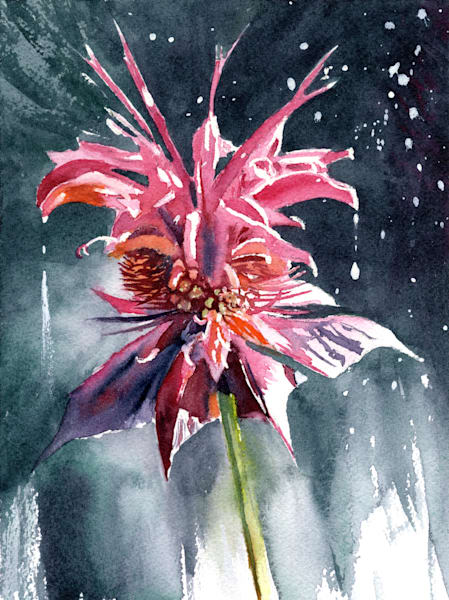 Rain Bomb Art   Machalarts Watercolor Studio