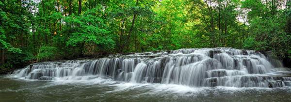 Postcard Falls in Corbett's Glen, Rochester, NY
