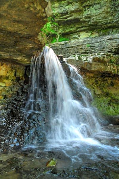 Falls in McCormick's Creek State Park, IN