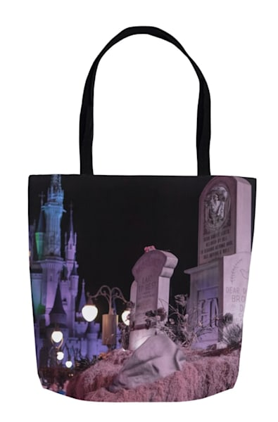 Boo To You Graveyard   Disney Halloween Tote Bag | William Drew Photography