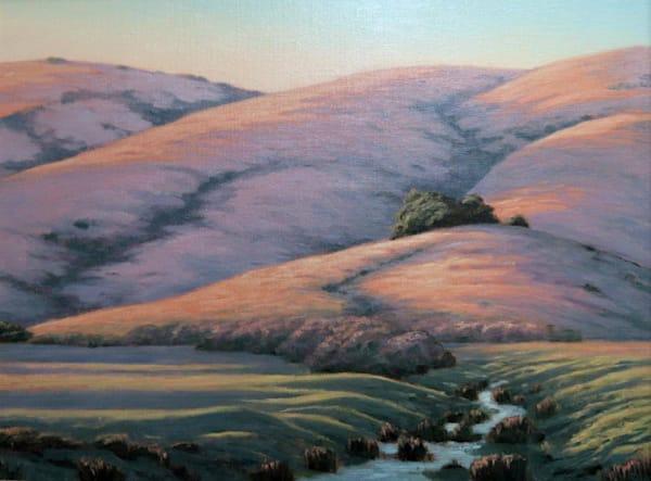 Chileno Valley Creek Art   Terry Sauve Fine Art