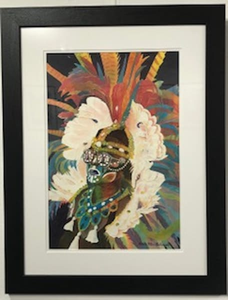 She Mommaguy   Crucian Carnival Series Iii, Framed Art   Michele Tabor Kimbrough