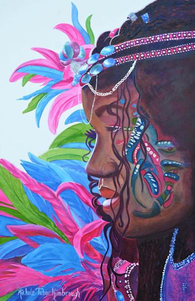 Elegant Amana   Crucian Carnival Series Viii, Unframed Art   Michele Tabor Kimbrough