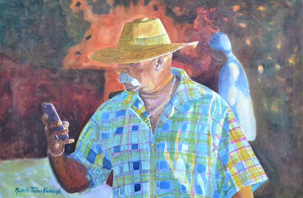 Selfie Picture Moment   Crucian Carnival Series I, Unframed Art   Michele Tabor Kimbrough