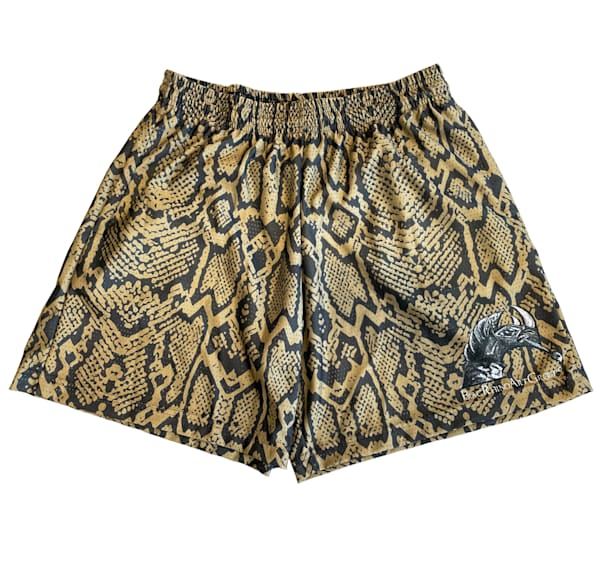 Blac Rhino Snake Skin Print Shorts | Blac Rhino Art Group