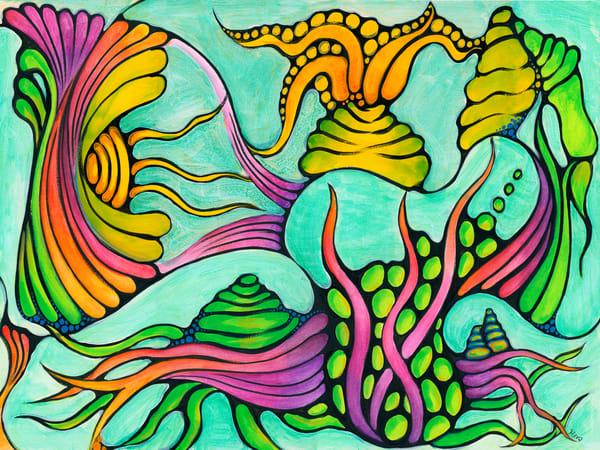 Aquatic Symphony Art | Hava Gurevich Art