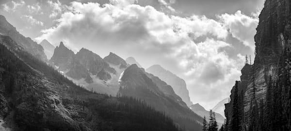 Cloud Shadow On The Mountain Art | James Alfred Friesen