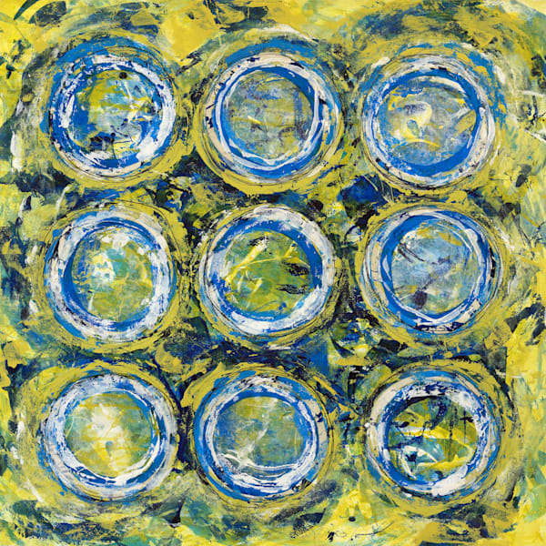Tequila Rims - Original Abstract Painting | Cynthia Coldren Fine Art