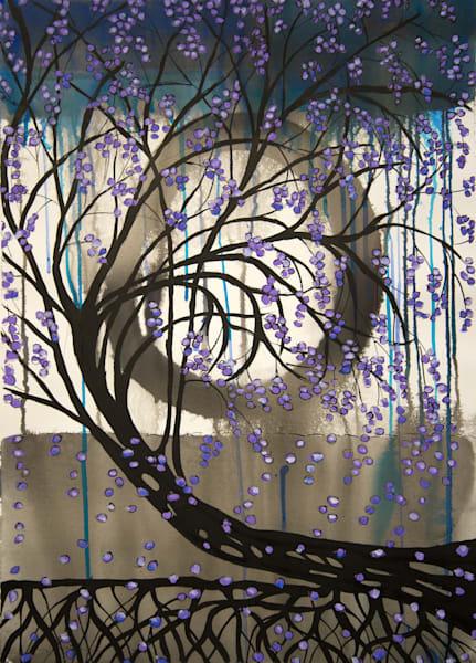 Meditation On Trees Ii  Art | Norlynne Coar Fine Art