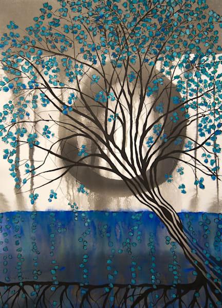 Meditation On Trees I  Art | Norlynne Coar Fine Art