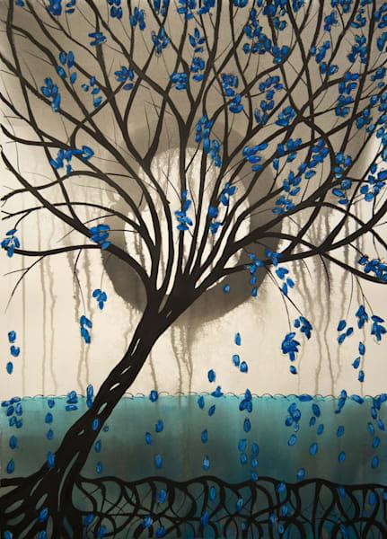 Meditation On Trees Iii  Art | Norlynne Coar Fine Art