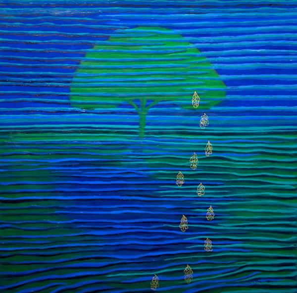 Memory Of Leaves Art | Norlynne Coar Fine Art