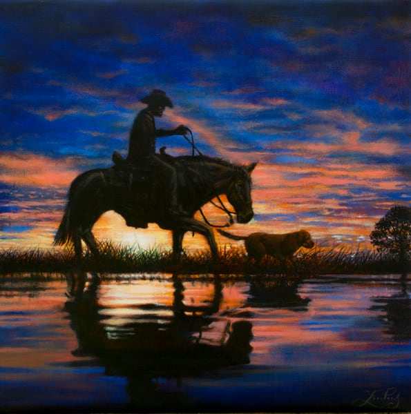 Sunset Rider  Art | James Loveless Art
