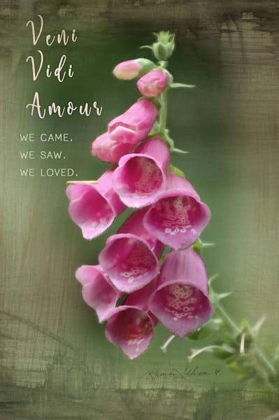 Foxglove Floral Art