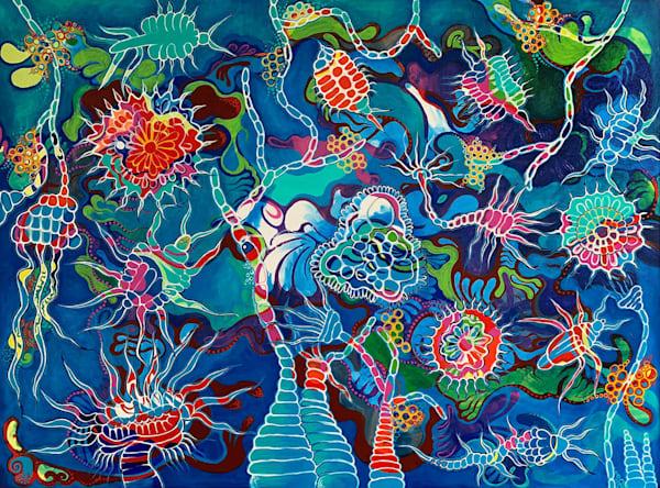 Radiolaria Art | Hava Gurevich Art