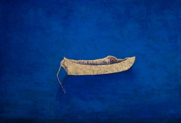 Dory On Blue Art | Norlynne Coar Fine Art