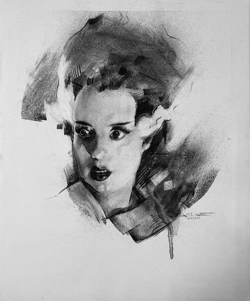 Elsa Lanchester Art | Cincy Artwork