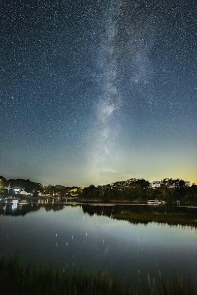 Milky Way At Goose Creek Photography Art   Teaga Photo
