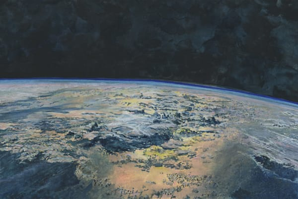 Earthscape Original Art   Artwork by Rouch