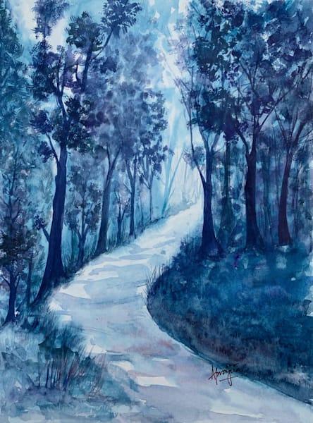 """""""Frosty Fog"""" Art Print by Aprajita Lal"""