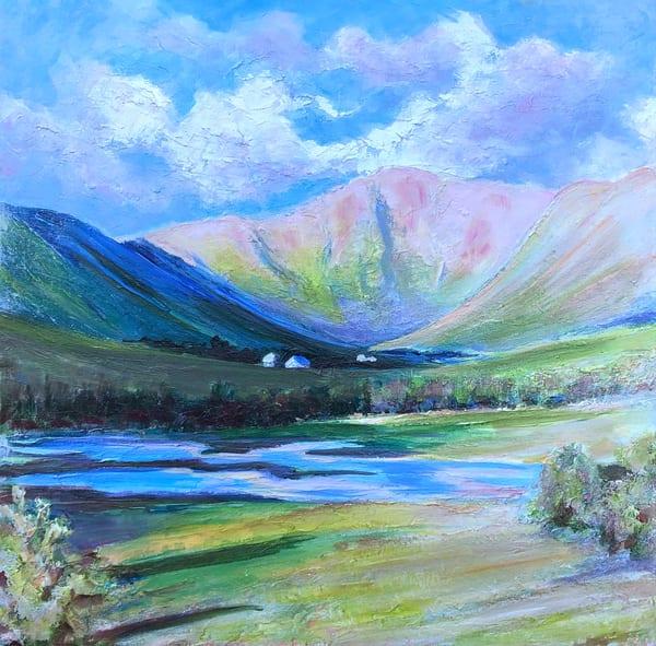 scotland highlands art of a glen sophie dare highland art