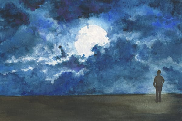 Moonlight Limited Edition Art | Artwork by Rouch