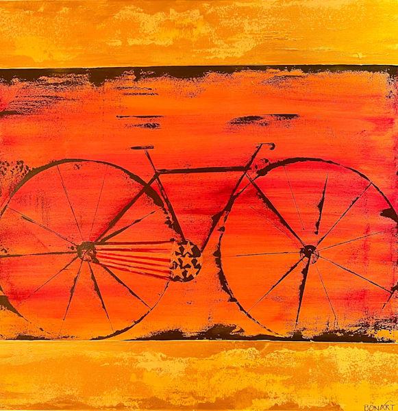 A Merican Bike  Art | benbonart
