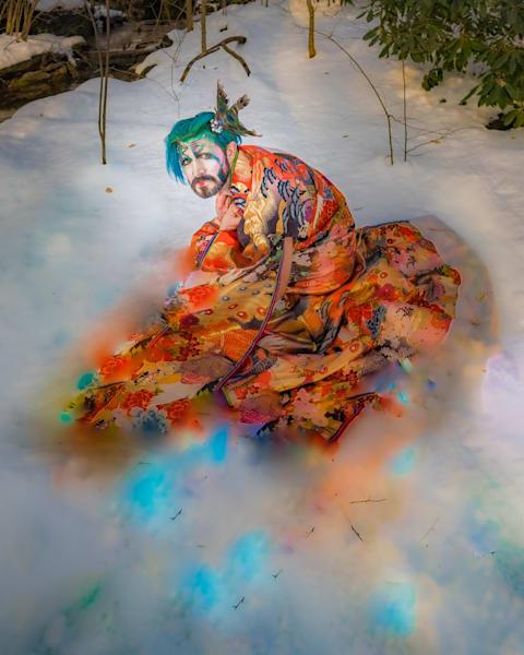 'kimono, Melt' Archival Pigment Print Photography Art | Cid Roberts Photography LLC