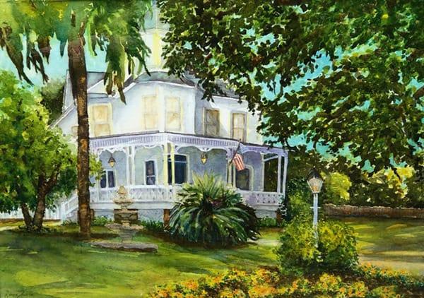 """Gleason House""  By Karen Lewis, Watercolor Art | Eau Gallery"