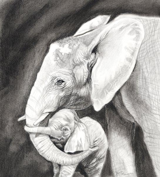 Elephantine Embrace Original