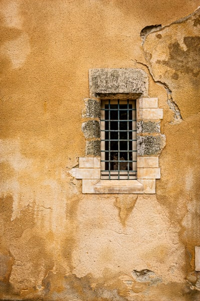 Window and Wall Texture, Troyes, France