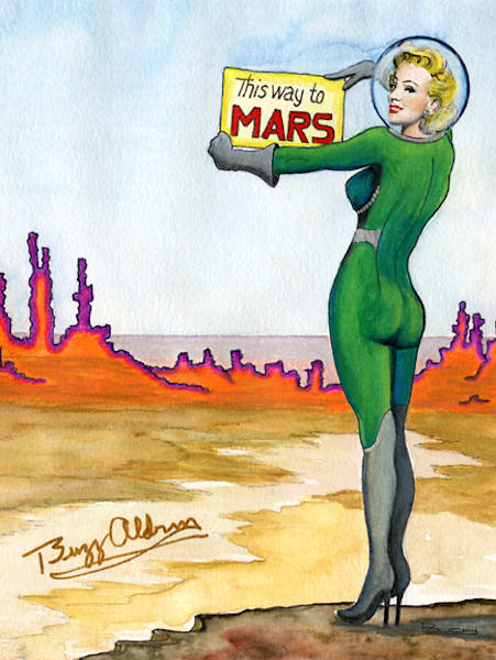 this way to mars original art