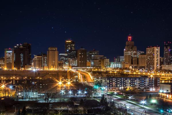 Saint Paul Skyline from the South - Minnesota Photographs