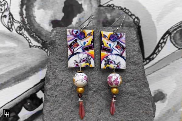 My Mother's Dresser_No. 4 Earrings
