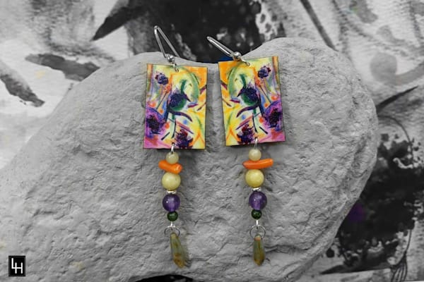 Zippy And The Butterfly Bush_No. 1 Earrings